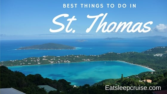 5 Best Things to Do in St Thomas on a Cruise