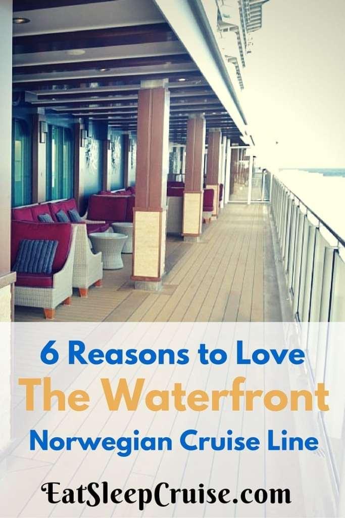 Waterfront on Norwegian Cruise Line