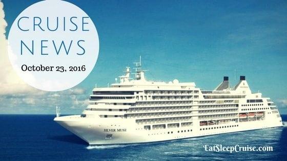 Cruise News October 23, 2016