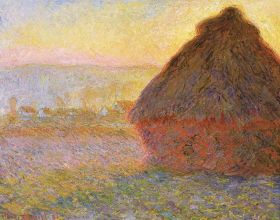 Monet Haystacks