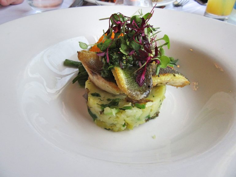 Sea Bass at Beech Hill Hotel & Spa