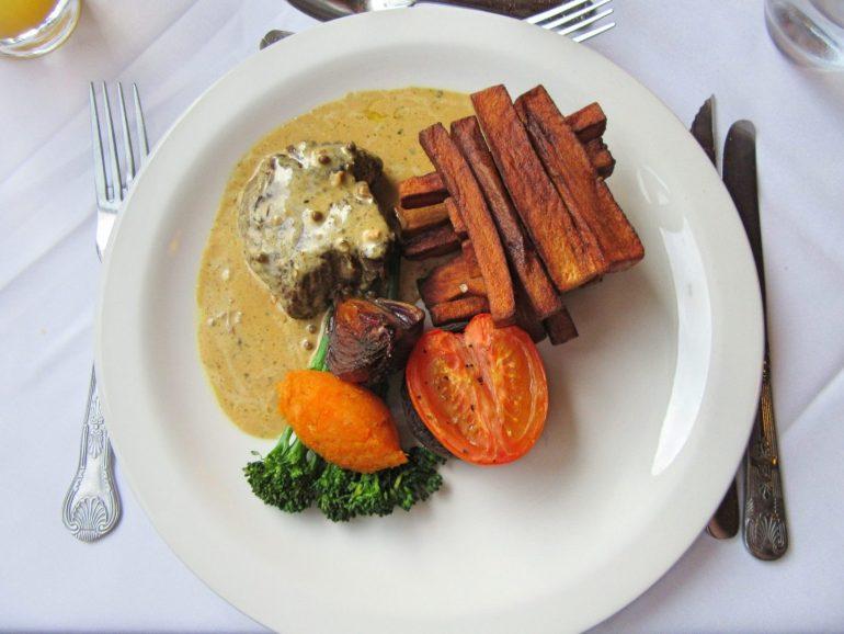 Steak & Chips at Beech Hill Hotel & Spa