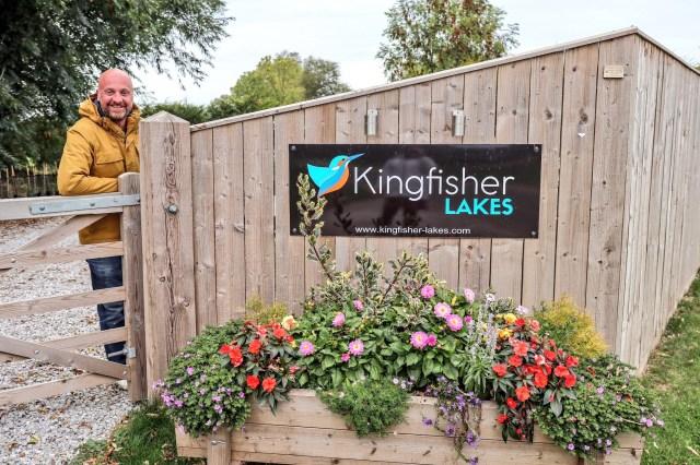 Mr ESLT Glamping at Kingfisher Lakes Glamping Site, Yorkshire