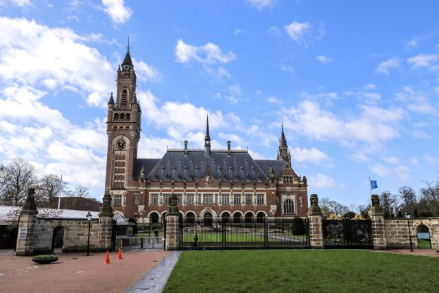 The Peace Palace, The Hague, The Netherlands