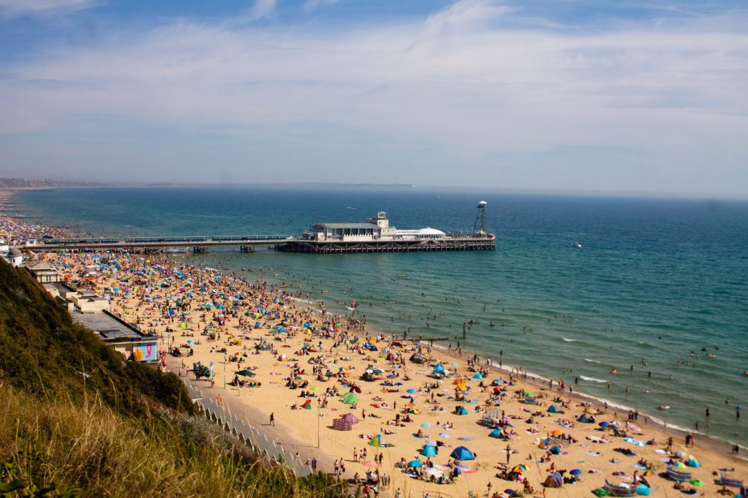 Bournemouth Beach, Dorset