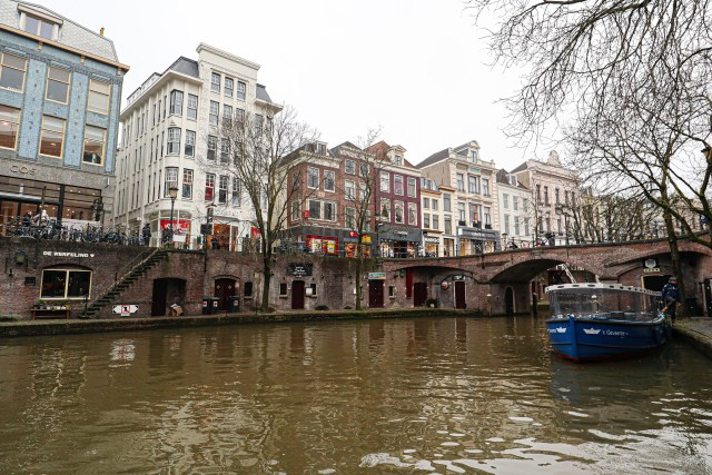 Canal Cruise, Utrecht, The Netherlands