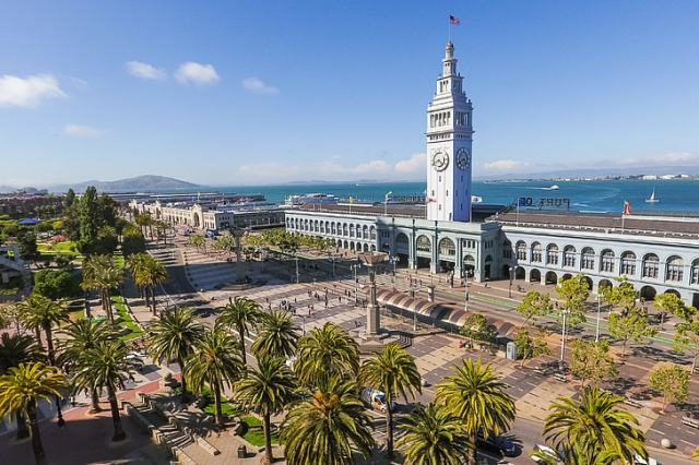 ferry building market, San Francisco, California, USA