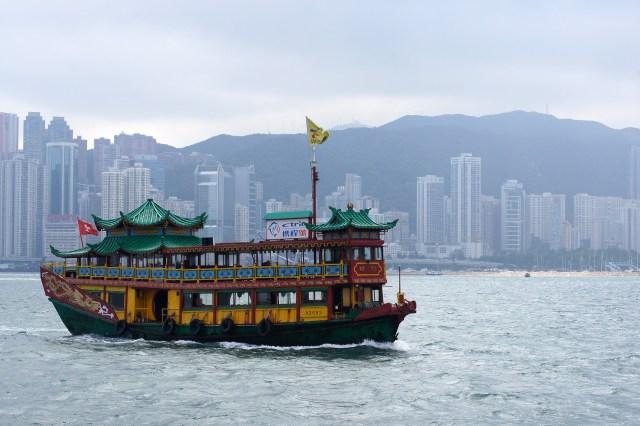 Hong Kong Boat Ride