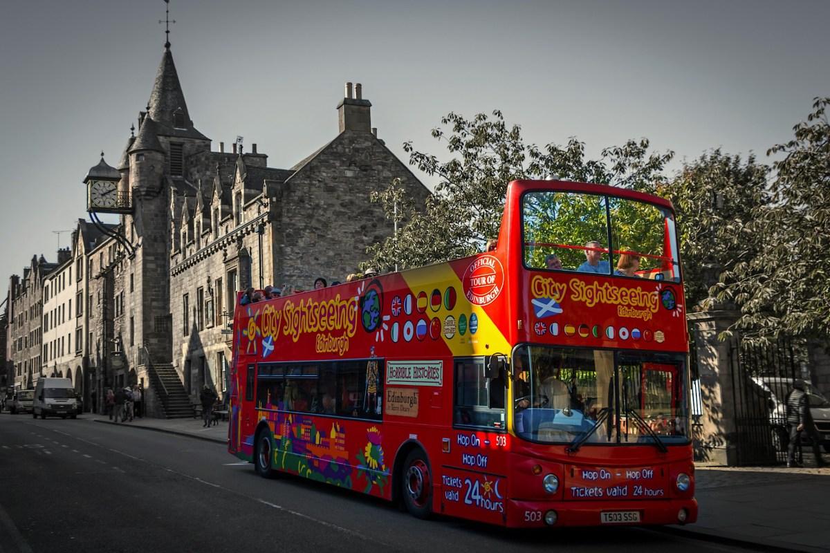 Hop On Hop Off Bus, Edinburgh