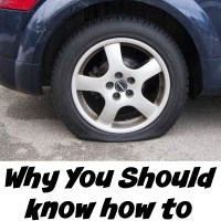 Why it is important to know how to change a tire