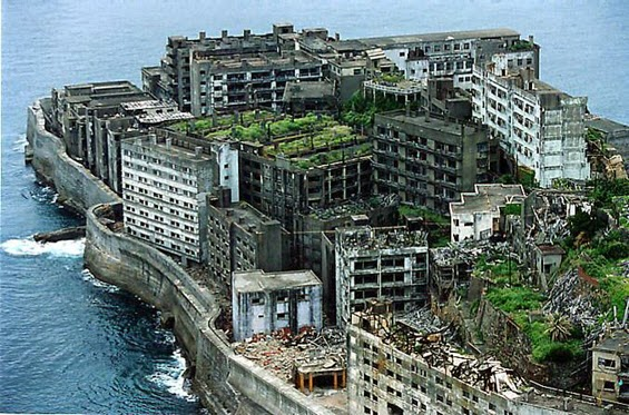 Island Hashima (Ghost Island), Japan