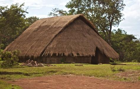 Sen Monorom Bunong house