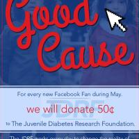 Charity of the Month - Juvenile Diabetes Research Foundation