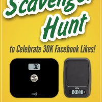 Scavenger Hunt to Celebrate 30K Facebook Likes