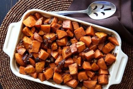 Sweet Potato Apple Casserole