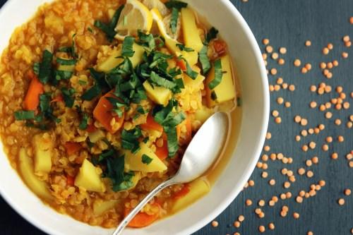 Lemon Lentil Stew