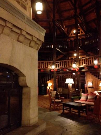 Cozy central lobby
