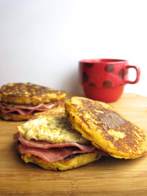 Acorn Squash Breakfast Sandwiches | Eat Something Delicious