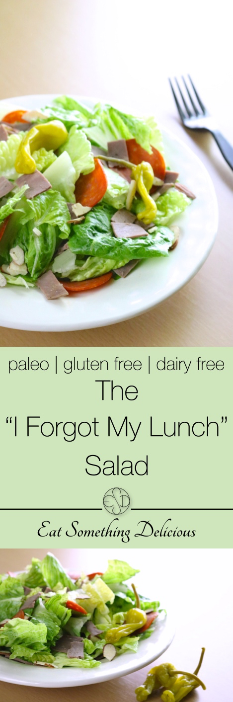 """The """"I Forgot My Lunch"""" Salad 