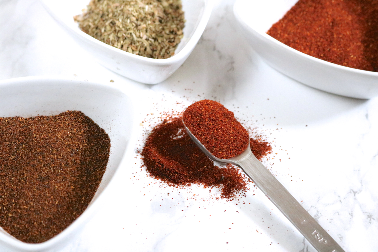 Taco Seasoning   Unlike a lot of taco seasonings, this is free of dairy and corn, making it great for those with food allergies.   eatsomethingdelicious.com