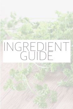 "Descriptions and tips for gluten free, paleo, and other ""allergy-friendly"" ingredients that can be used as substitutions in your favorite recipes."