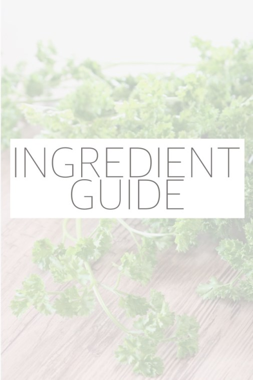 """Descriptions and tips for gluten free, paleo, and other """"allergy-friendly"""" ingredients that can be used as substitutions in your favorite recipes."""
