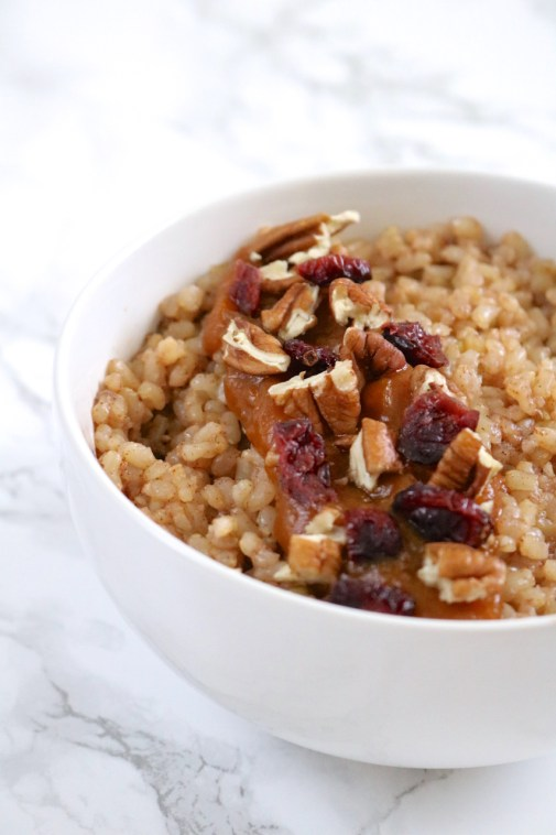 Instant Pot Breakfast Rice Bowls   Breakfast rice is a delicious, gluten free swap for oatmeal and can be made in an Instant Pot or stovetop with very little effort. Top with all your favorite oatmeal toppings and mix-ins. Base recipe is vegan-friendly.   eatsomethingdelicious.com
