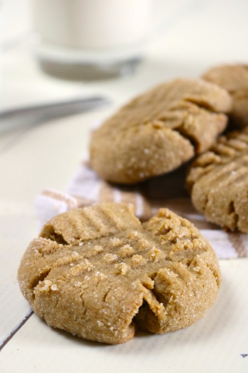 Sunbutter Cookies and Blossoms with Peanut Butter Option | This sunbutter cookie dough can be made into either sunbutter cookies or blossoms. Includes a peanut butter option too. Gluten free, dairy free. | eatsomethingdelicious.com