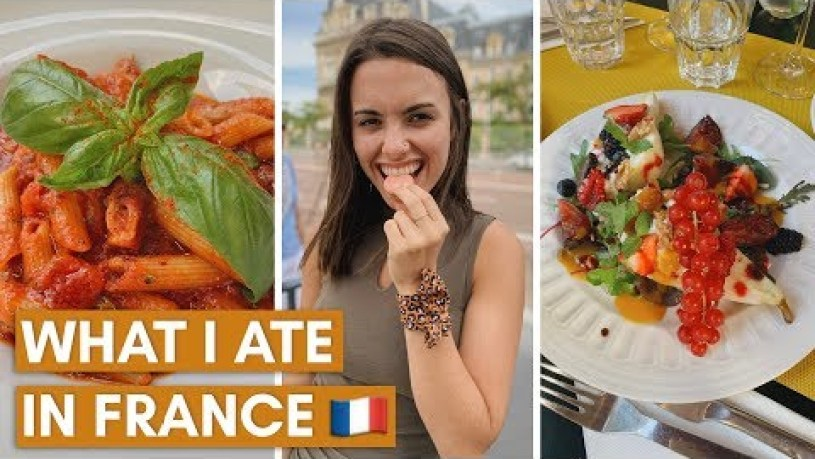 WHAT I ATE IN FRANCE | PARIS AND NICE | VEGETARIAN