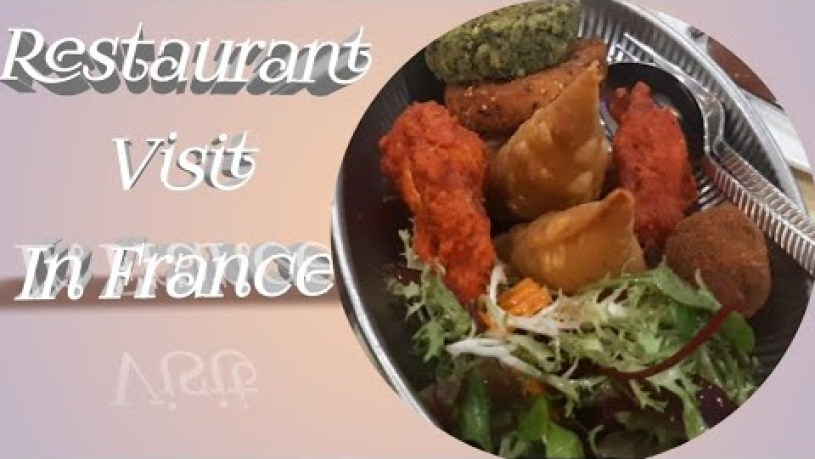 Indian Traditionnel Food In France | Restaurant Visit | Tamil Mom