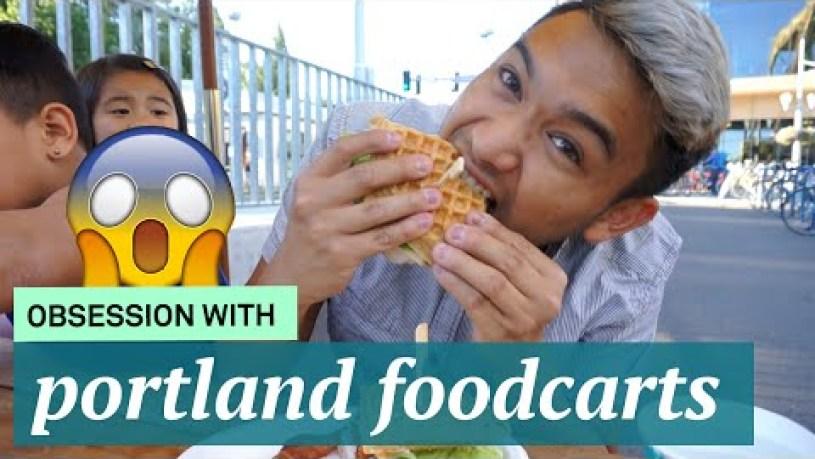 Weekend in Oregon! Portland Foodcarts - ohitsROME vlogs