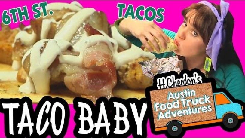 White Trash Taco, Taco Baby, Austin Food Truck Adv 2.50