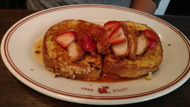 Little Goat Diner - BULL'S EYE FRENCH TOAST