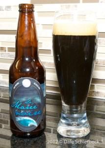 La Marée Noire (Black American Ale), Microbrasserie Saint-Arnould