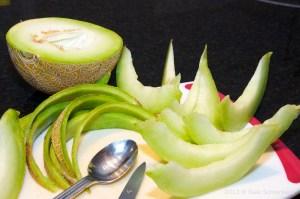 Prosciutto e Melone (Prosciutto wrapped Melon)