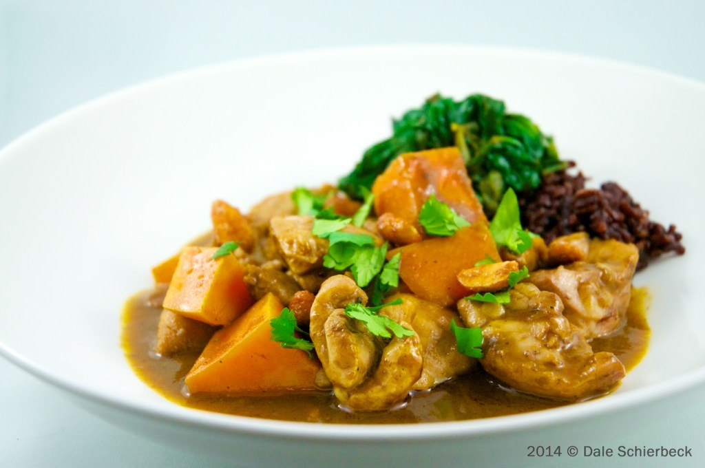 "Fragrant Thai ""Massaman"" Chicken Curry"