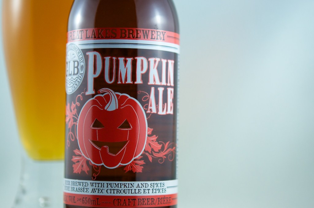 """""""Pumpkin Ale"""" (Spiced Beer) Great Lakes Brewery"""