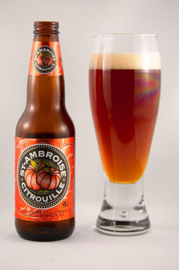 """""""St-Ambroise Citrouille"""" (Pumpkin Ale) McAuslan Brewing"""