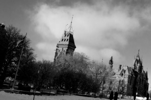 Frozen Parliament Hill 2