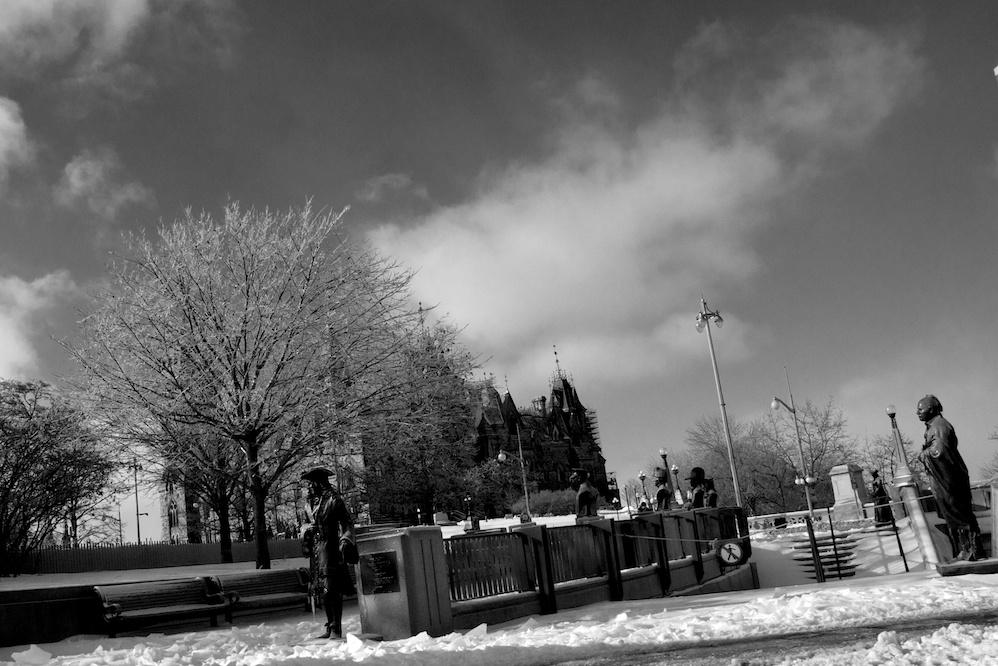 Frozen Parliament Hill 3