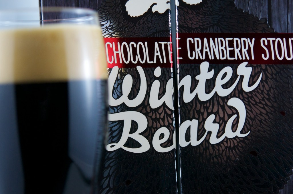 """Winter Beard"" (Double Chocolate Stout), Muskoka Brewery"