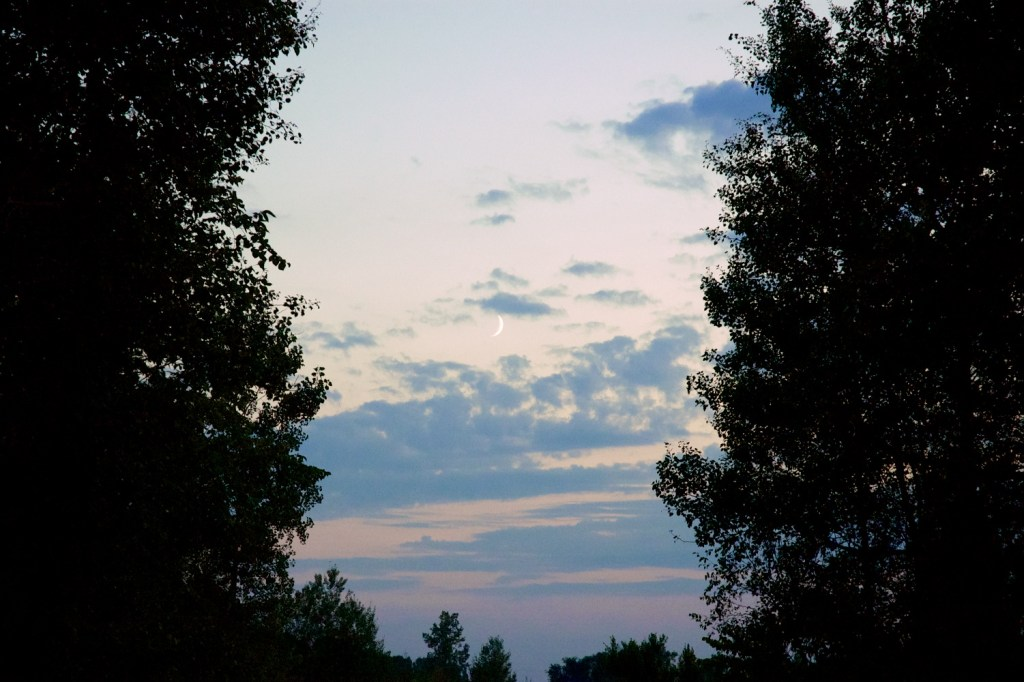 Symmetry's Scimitar (landscape)