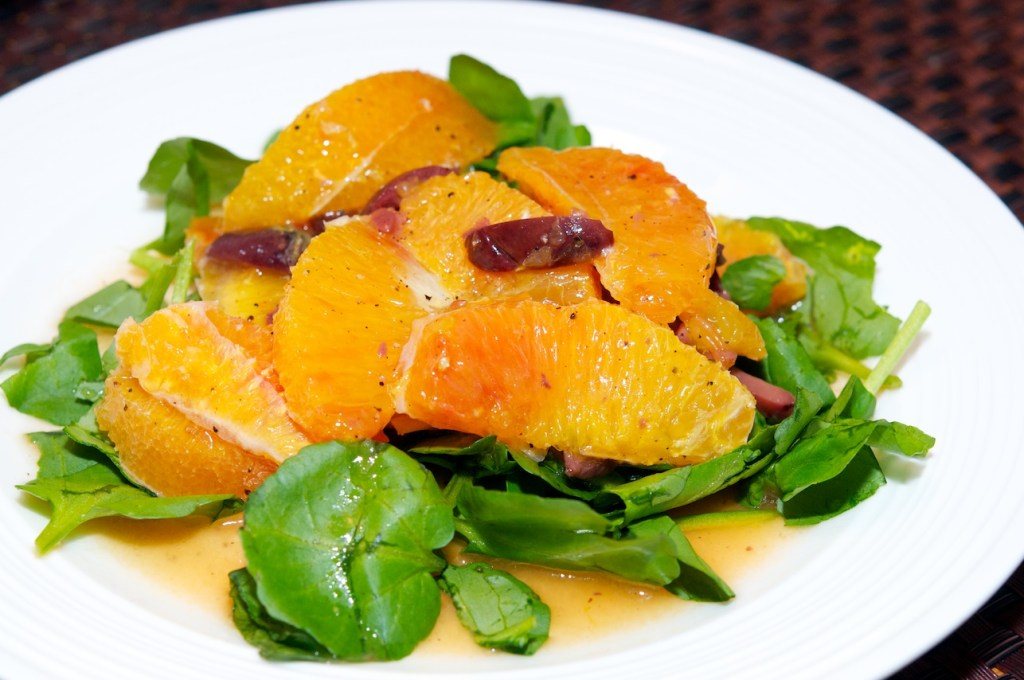 Sicilian Orange and Watercress Salad