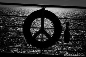 peace (BW)
