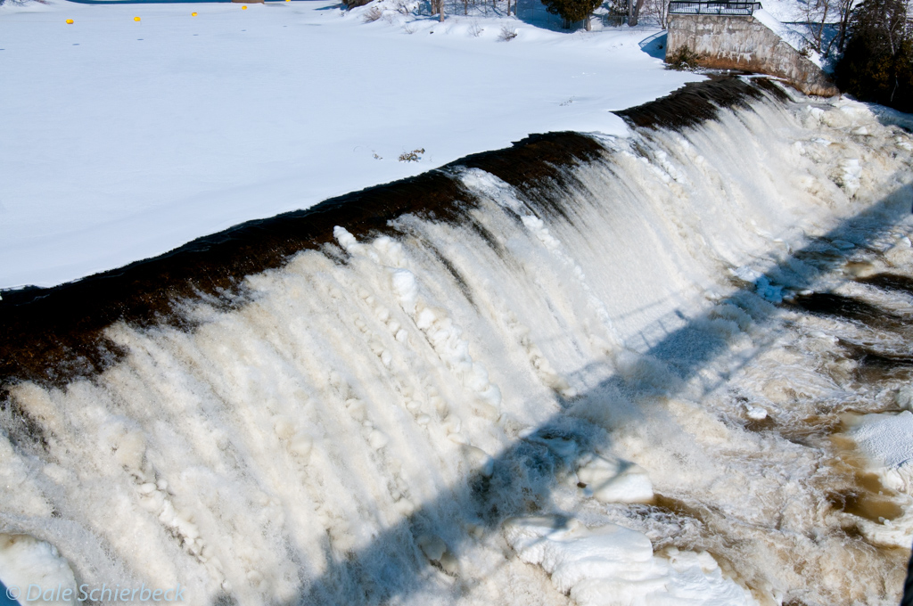 Lip of Montmorency Falls