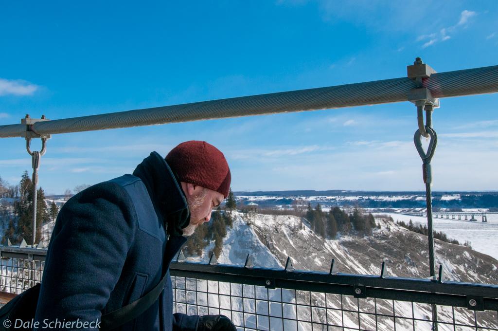 Dale Overlooking Montmorency Falls