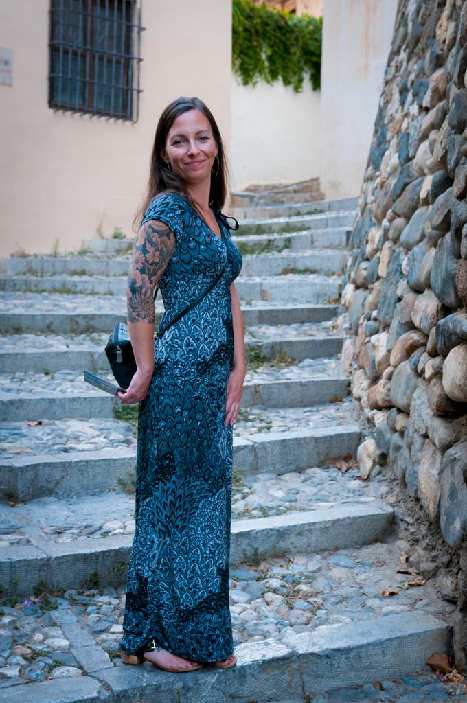 Up streets of Albaicin - Jess