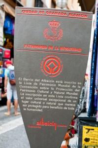 Albaicin Sign