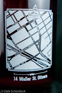 Waller Street Map