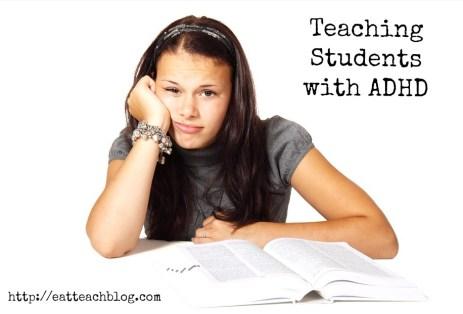 teaching students adhd